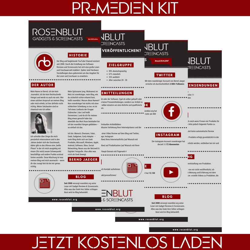 rosenblut.org PR- und Media-Kit