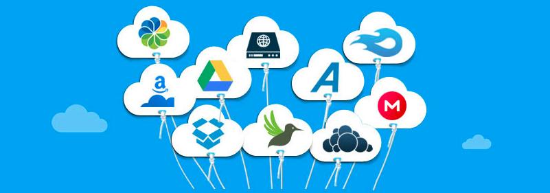 MultCloud: Verwalten, Kopieren & mehr über alle Clouds hinweg