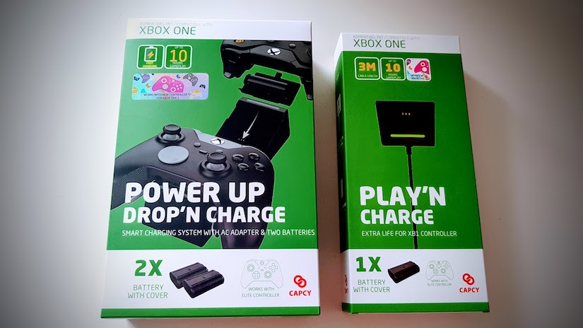 CAPCY Power Up Drop'n Charge Set