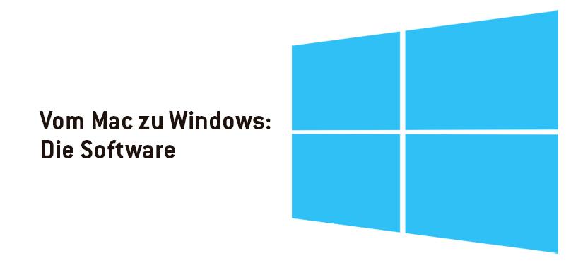 Vom Mac zu Windows